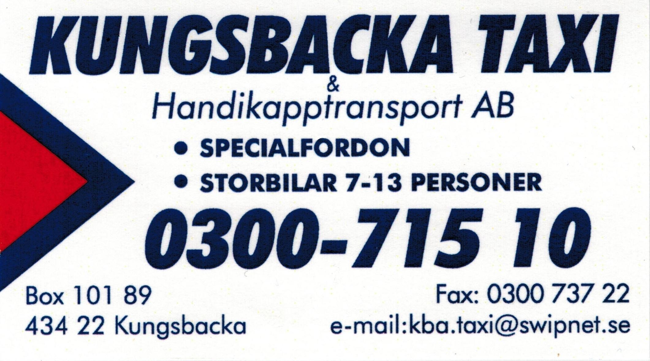 Kungsbacka Taxi & Handikapptransport AB